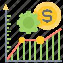 finance, forecast, graph, money, statistic