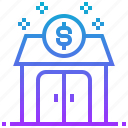 exit, financial, investment, solution, strategy icon