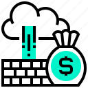 business, difficult, investment, money, obstacle icon