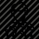 avatar, business, logo, man, person, silhouette, star