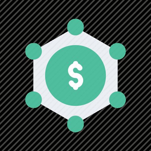 crowd, crowdfunding, finance, funding, money, network icon