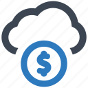 cloud, donation, funding icon