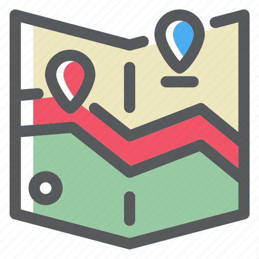 Location, map, pin, place, route icon - Download on Iconfinder