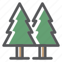 adventure, forest, jungle, nature, survival, tree, trees icon