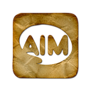 aim, logo, square
