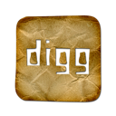digg, logo, square icon