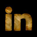 linkedin, logo icon