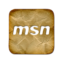 logo, msn, square