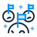achievement, award, goal, prize, success icon
