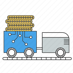 bitcoin, cryptocurrency, mining, tool icon