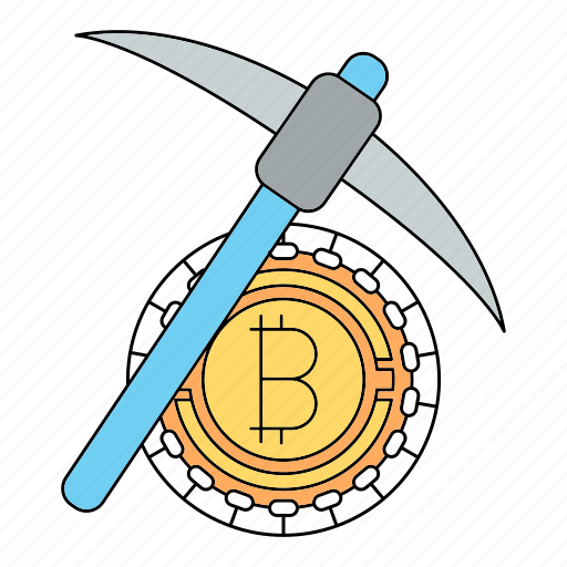 bitcoin, cryptocurrency, find, mining, technology icon