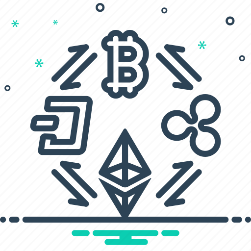 buy, coin, cryptocurrency, currency, digital, exchange, trade icon