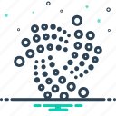 coin, crypto, cryptocurrency, currency, digital, iota icon