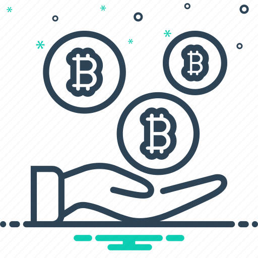 bitcoin, pay, payment, shopping icon