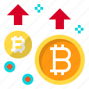 business, coin, cryptocurrency, digital, increase, money