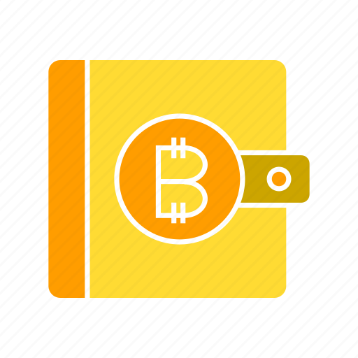 bitcoin, blockchain, crypto, cryptocurrency, wallet icon