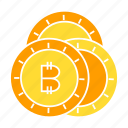 bitcoin, blockchain, cash, coin, cryptocurrency, invest, money, wealth icon