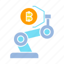 automation, bitcoin, blockchain, bot, robot, robotics