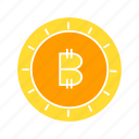 bitcoin, blockchain, coin, cryptocurrency, digital money, money icon