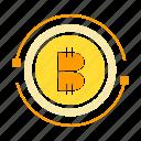 bitcoin, coin, cryptocurrency, digital money, money