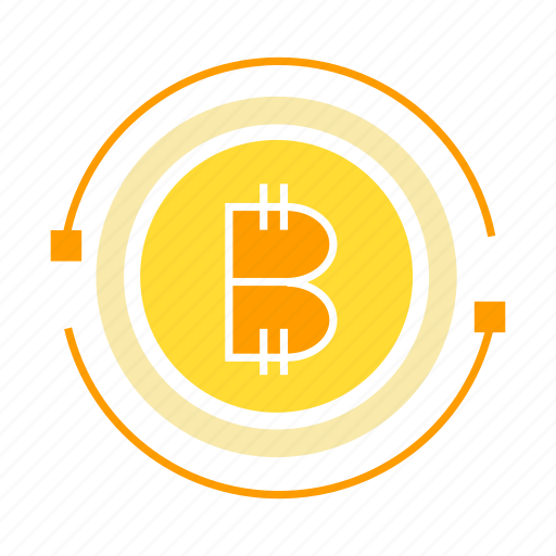bitcoin, coin, cryptocurrency, digital money, money icon