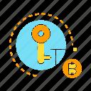 bitcoin, blockchain, cryptocurrency, encryption, key, lock, security
