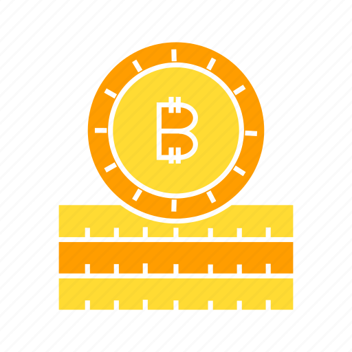 bitcoin, blockchain, coin, cryptocurrency, digital money icon