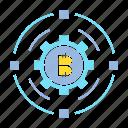 bitcoin, blockchain, cogg, crypto, digital money, gear