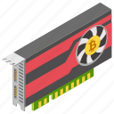 cpu mining, cryptocurrency mining, graphic processor, mining device, mining hardware icon