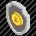 bitcoin security, bitcoin shield, blockchain security, cryptocurrency security, reliable bitcoin icon
