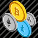 alternative cryptocurrencies, alternative currencies, cryptocurrency, cryptocurrency coins, digital currencies icon