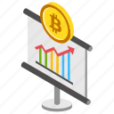 bitcoin analysis, bitcoin chart, bitcoin graph, bitcoin market, cryptocurrency market icon