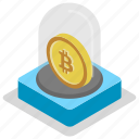 digital currency, cryptocurrency, alternative currency, bitcoin, electronic currency icon