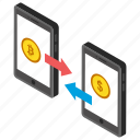 bitcoin exchange, bitcoin trading, cryptocurrency, cryptocurrency exchange, digital marketplace icon