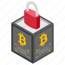 blockchain privacy, decentralized security, encrypted blockchain, secure blockchain, security of blockchain icon