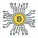 bitcoin, crypto, cryptocurrency, currency, finance icon