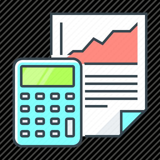 calculator, chart, report, ripple, ripple calculator icon