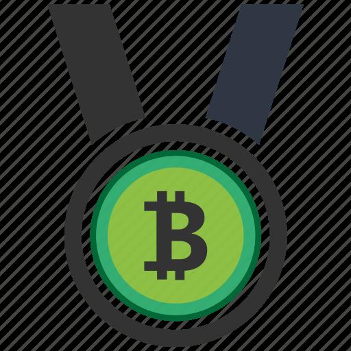 bitcoin, blockchain, calculator, cpu, medal icon