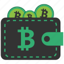 bitcoin, blockchain, calculator, cpu, wallet icon