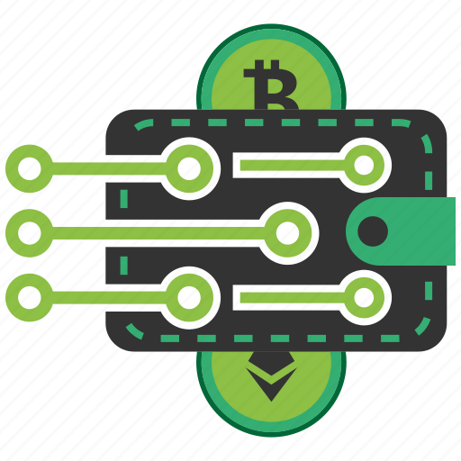 Bitcoin Blockchain Calculator Cpu Crypto Currency Wallet Icon