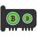 bitcoin, blockchain, calculator, cpu, gpu icon