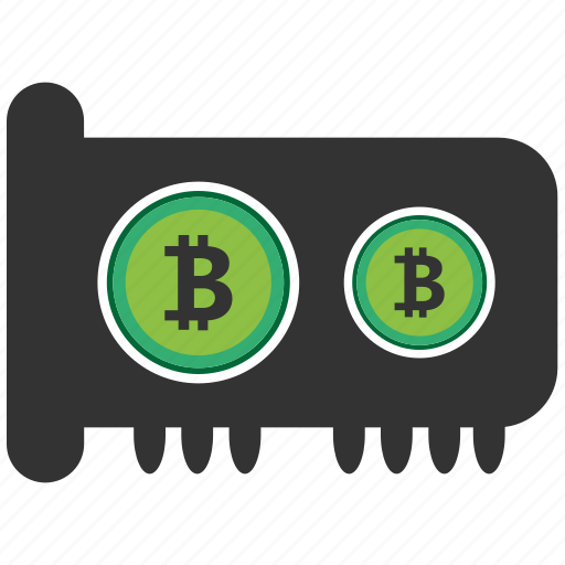 bitcoin, blockchain, calculator, cpu, gpu icon