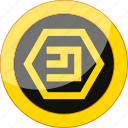 blockchain, coin, crypto, cryptocurrency, currency, emercoin, mining, money icon