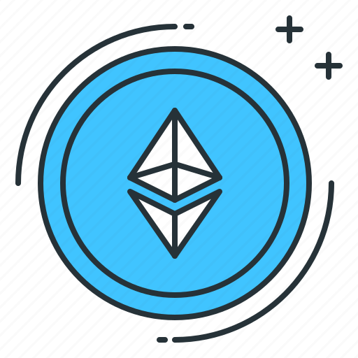 altcoin, blockchain, computer, cryptocurrency, digital, ethereum, money icon