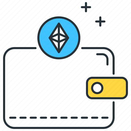 currency, ethereum, payment, purse, shopping, storage, wallet icon