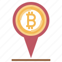 accepted, bitcoin, cash, currency, here, location, money