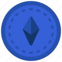 ethereum, cryptocurrency, crypto, alt, coin icon
