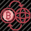 coin, crypto, dollar, flow, money, world