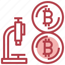 business, coin, dollar, money, research icon