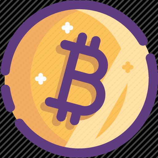bitcoin, blockchain, coin, cryptocurrency, ico icon